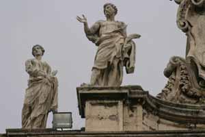 Святая Фёкла и Святой Виталий