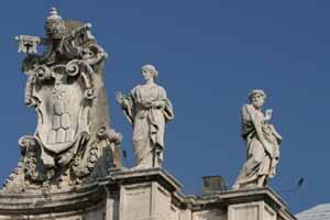 Святая Петронилла и святой Леонард