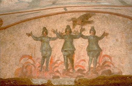Три отрока в печи вавилонской.