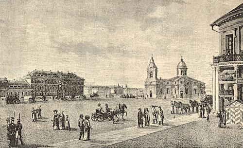 Третий Исаакиевский собор, достроенный В.Бренна