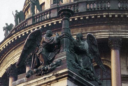 И.Витали. Ангелы со светильником