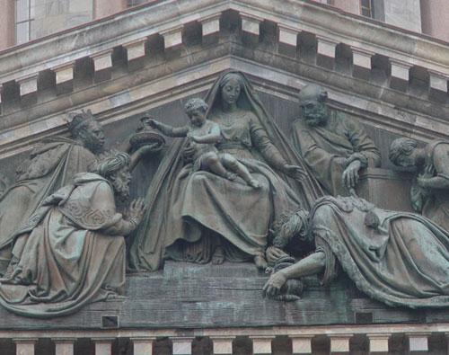 И.Витали. Поклонение волхвов