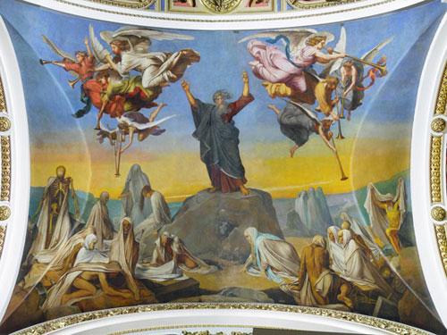 Ф.Бруни. Видение пророка Иезекииля
