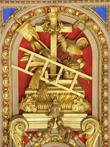 И.Витали. Атрибутика крестных страданий