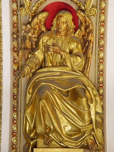 И.Витали. Ангел рядом с апостолом Нигером