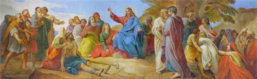 П.Басин. Нагорная проповедь