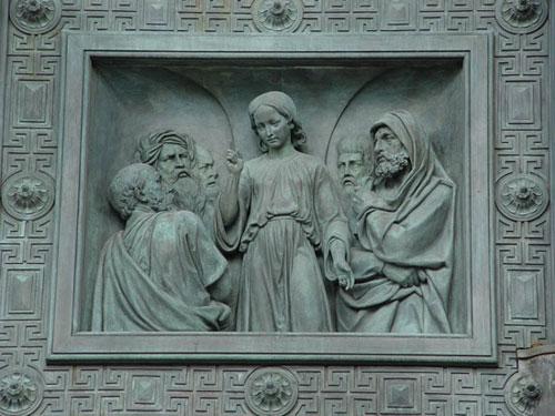 И.Витали. Спор Христа с фарисеями