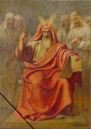 Ф.Завьялов. Предсмертное завещание Моисея