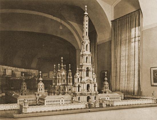 Смольный монастырь. Модель