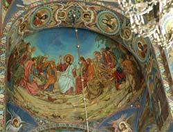 Нагорная проповедь. Мозаика южного свода. По оригиналу В.В.Беляева