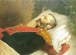 К.Е.Маковский. Александр II на смертном одре. Холст, масло. Конец XIX века