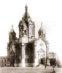 Благовещенская церковь в Петербурге